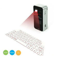 TASTIERA MOUSE BLUETOOTH WIRELESS PROIEZIONE LASER VIRTUALE ANDROID IOS KEYBOARD