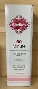 Fake Bake 60 Minute Rapid Self-Tan Liquid 8 Fl Oz