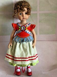 "10"" Vinyl Dianna Effner Doll Monday's Child Boneka LE2010 Modern Doll Convention"
