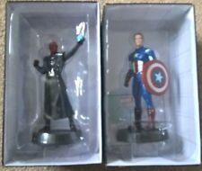 Marvel Fact Files Movie collection Captain America and Red Skull figurine figure