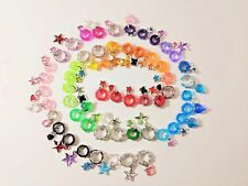 Littlest Pet Shop Custom Collars Variety Pack W/Charms, LPS Accessories 6 pieces