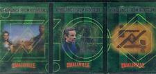 Smallville Season 5 Complete Vengeance From Krypton Chase Card Set BL1-3