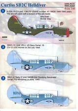 Print Scale Decals 1/48 Curtiss Sb2C Helldiver U.S. Navy Dive Bomber