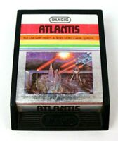 Atlantis Atari 2600 Sears Video Game Program 1982 Imagic Tested Vintage