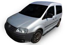 SB363BL VW CADDY 03-15 Trittbretter Schwellerrohre Seitenschweller ø63mm schwarz