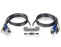 IOGEAR 2-Port USB KVM Switch With Audio Model #GCS632U