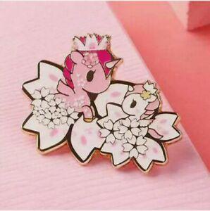 TOKIDOKI Cherry Blossom Chaser Mini Figure Badge Emblem Art Toy Figurine Secret