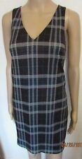 NWT LINED CHECK WINTER DRESS SIZE 10 NEW LOOK
