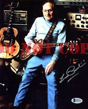 Les Paul Musician Signed 8x10 Autographed Photo Reprint