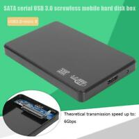 2.5 inch USB3.0 Micro-B to SATA HDD Box External 6-Gbps SSD Hard Drive Enclosure