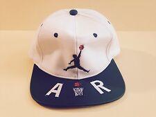 Air Jordan Gear Jumpman PVC Cap Hat White Green Basketball Snapback Style New