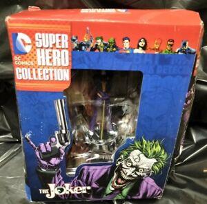 Eaglemoss The Joker DC Comics Super Hero Collection Damaged Box