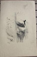 VERTES Marcel - Lithographie lithograph Mourlot signée dans la composition .