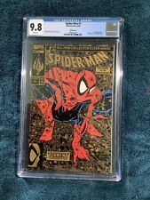 1990 SPIDER-MAN #1 Gold Edition  CGC 9.8  TODD MCFARLANE  Story, Cover & Art