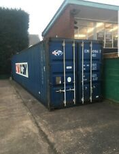 More details for 40ft high cube used shipping containers - delivery available nationwide