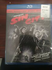 Sin City (Blu-ray Disc, 2011, 2-Disc Set, Recut, Extended, Unrated) Brand New