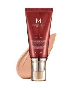 Missha M Perfect Cover SPF 42 PA+++ UV Shield Whitening Wrinkle Care BB Cream