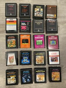 ASSORTED GAMES FOR ATATRI 2600 ***LOT OF 20***