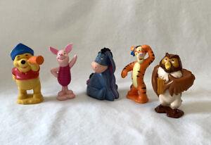 "Mini Winnie the Pooh Character 3"" Figurines"