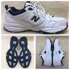 New Balance 608 V2 Sneakers, Mens US Size 14 Wide 4E width White Blue MX608V2W