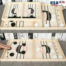 Fast Sling Puck Game Hockey Game Tablet Board Game Family Fun Games Child Toy UK