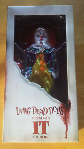 Living Dead Dolls Presents It 1990 Pennywise the Clown Doll