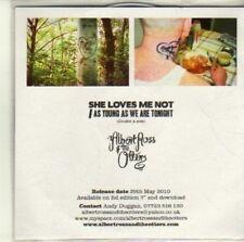 (CI493) Albert Ross & The Otters, She Loves Me Not - 2010 DJ CD