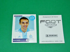 PANINI FOOT 2001 FRANCE FOOTBALL 2000-2001 SKORO OLYMPIQUE MARSEILLE OM