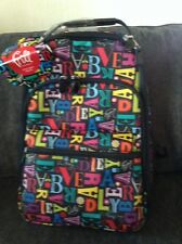 VERA BRADLEY NWT FROM A TO VERA LARGE BACKPACK FRILL LUGGAGE COLLECTION RARE