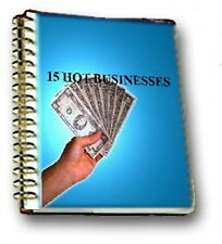 Make More Money Today With The 15 Hottest Proven Business Ideas And Plans (CD)