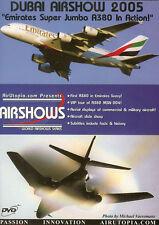 Dubai Airshow 2005 A380 777 B1 B2 B52 F117 F16 DVD