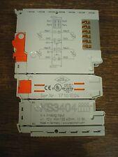 Beckhoff KS3404  4-channel analog input terminal - New - 60 day warranty