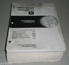 Werkstatthandbuch John Deere Traktor 7610 / 7710 / 7810 Technik Stand 02/2000