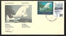 CANADA QUEBEC PROVINCE # QW7 WILDLIFE CONSERVATION 1994 FIRST DAY COVER