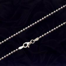 Kugelkette Silber 925, Länge 55 cm