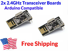 2Pcs NRF24L01 NRF2401 NRF24 2.4GHz Transceiver For Arduino FREE FAST US SHIPPING
