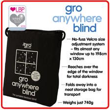 ❤  Gro Anywhere Blind Black Blackout Blind for sleeping Baby Toddler & Kid Rooms