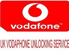 UK VODAFONE IPHONE 5 5S 5C 6 6 Plus 6S 6S Plus SE UNLOCK CODE SERVICE (3-7 Days)