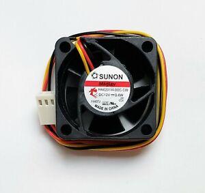 Super Quiet 40x40x20mm Cooling Fan Sunon HA40201V4-000C-C99 3 pin w/ RPM Sensor