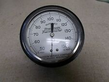 Johnson Pneumatic Thermometer 2-8-66 93mm 50-150 Degree *FREE SHIPPING*