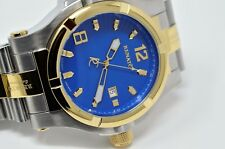 New Mens Renato T-Rex Limited Edition Blue Dial Swiss Automatic 2824 Watch