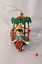 Disney  Pinocchio and Jiminy  Cricket  Caged Motion Ornament