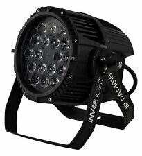 Involight IP PAR1818 Outdoor LED DMX Scheinwerfer RGBWA IP65 Garten Balkon Spot
