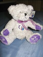 """RELAY FOR LIFE- AMERICAN CANCER SOCIETY 2003 BEAR -""""CAREGIVER"""" MINT WITH TAGS"""