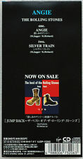 "3"" CD The Rolling Stones Angie / Silver Train Japan VJDP 10262"