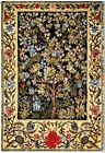 Gobelin Tapestry Tree of Life Morris Textile Picture without Frame 68x100