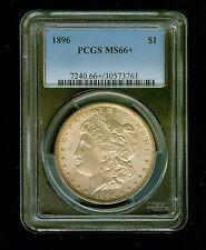 PCGS MS66+  1896  $1  Morgan Silver Dollar