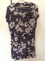 joules jersey tunic dress size 16