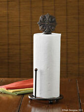 Park Designs Clifton Cast Iron Paper Towel Holder  **FREE SHIPPING**