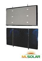 80 WHOLE 3x6 Solar Cells Short Tabbed Sharp Edge NEW